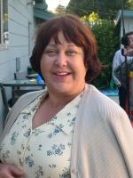 "Susan Ruttan on the Set of ""half-life."""