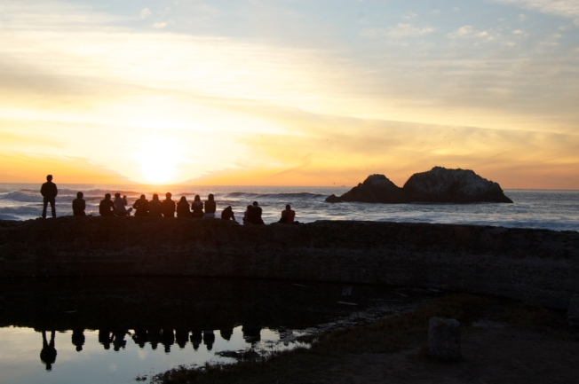 Photography Students at Sutro Baths, 21 January 2013