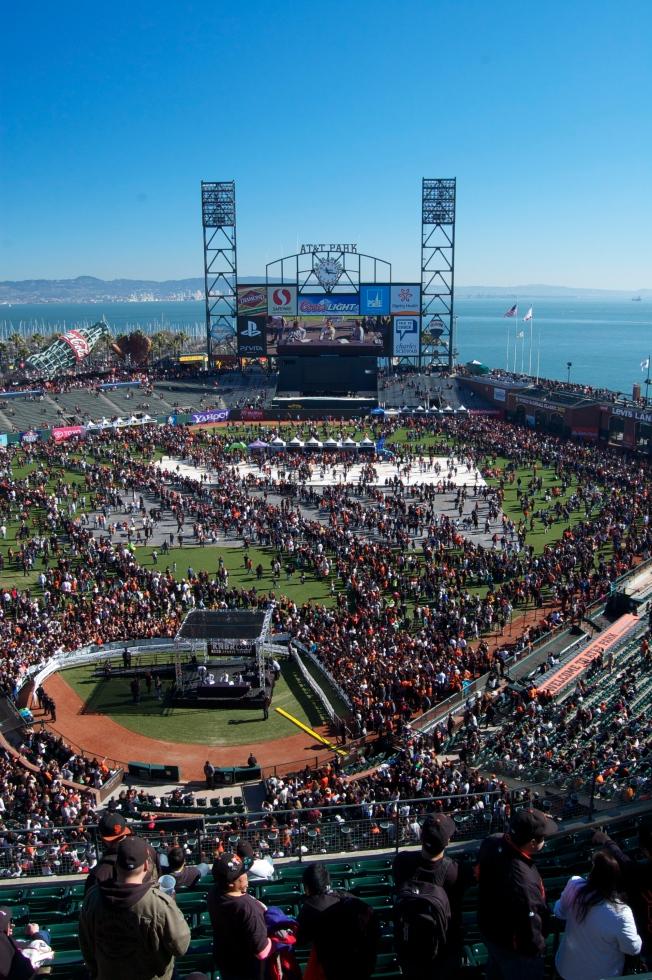 Giants Fan Fest 2013