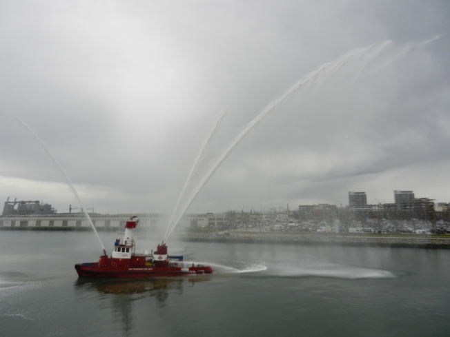 Even a Fireboat Will Show Up For the Fun.