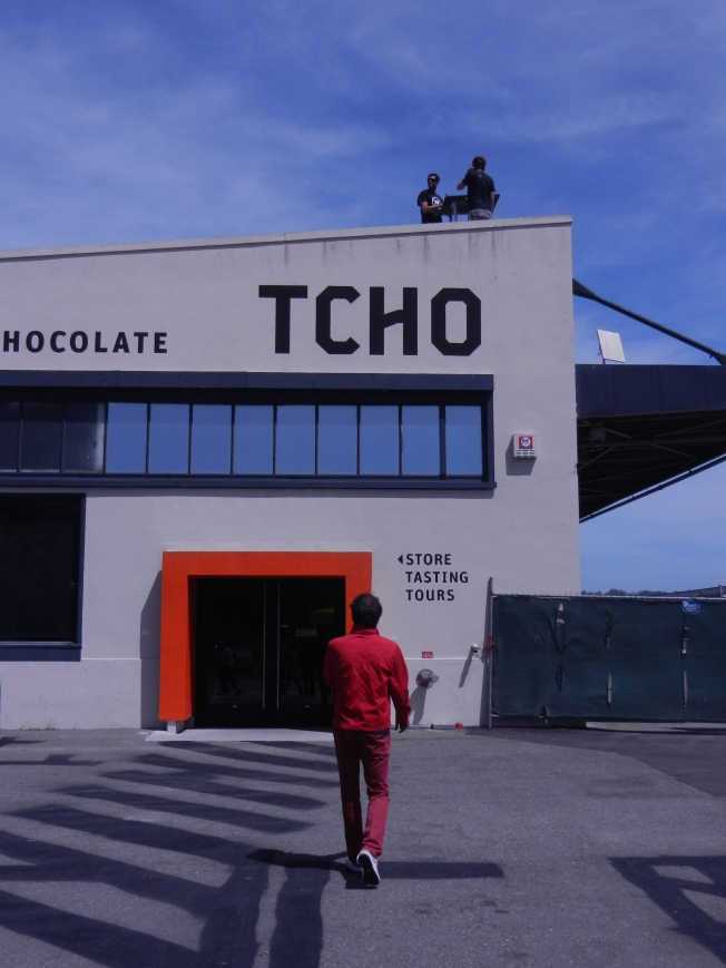 Visting the TCHO Chocolate Factory