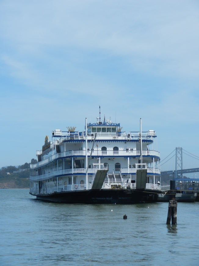 Antique Ferry Boat, Embarcadero, San Francisco