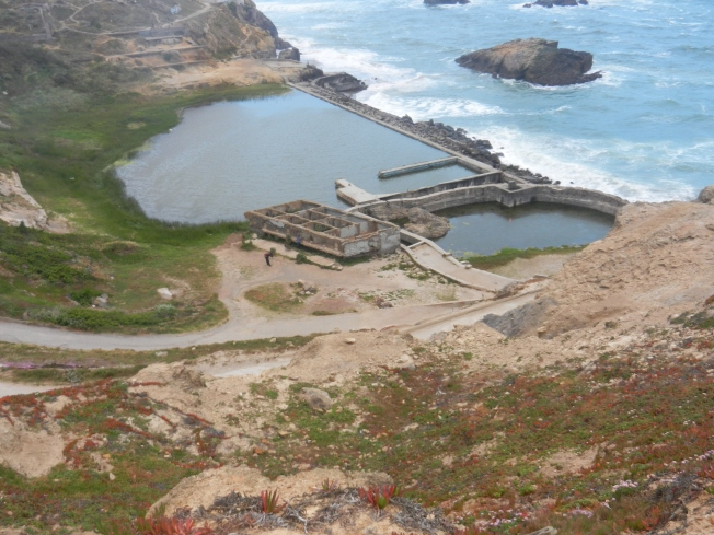 Sutro Baths from the North During a Foggy Late Afternoon, San Francisco, 4 May 2013