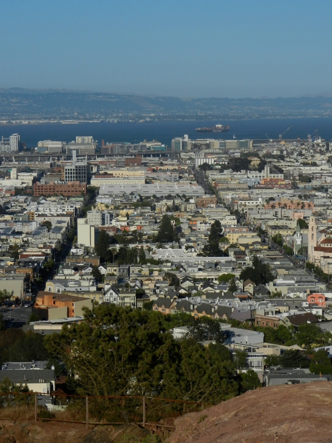 San Francisco & the East Bay as Seen from Corona Heights