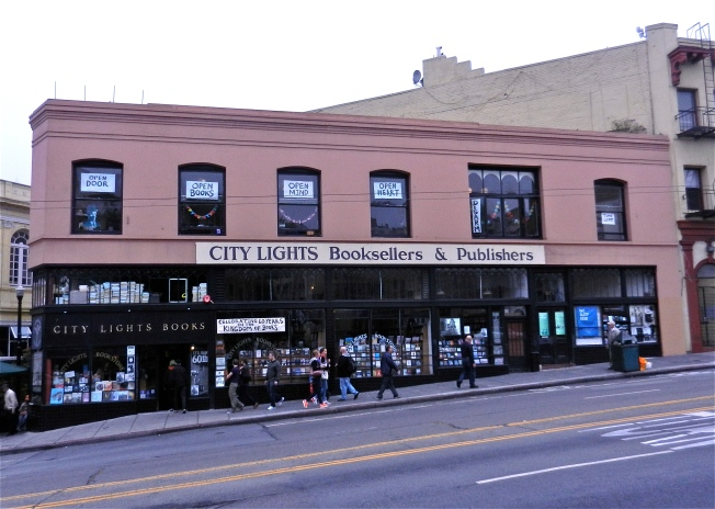 City Lights Bookstore Before the Celebration, 23 June 2013