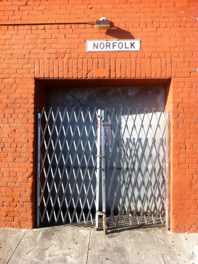 Norfolk Street nr. Harrison, San Francisco, California, 13 July 2013