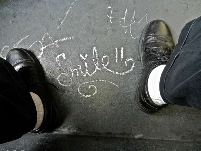 The Surreal Is That Which Lies At Your Feet: Smile, 4 August 2013