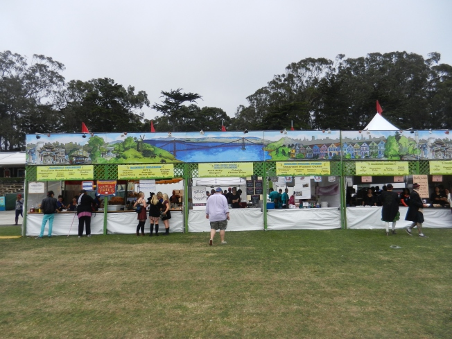 "Les Junque Food Stands, ""Land's End"" Area, Outside Lands 2013"