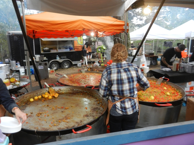 The Biggest Paella Pans I Have Ever Seen, Outside Lands 2013