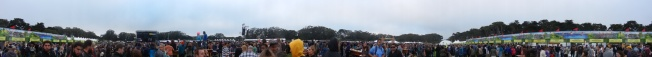 "Outside Lands Saturday 2013, ""Land's End"" Stage, Later That Day"