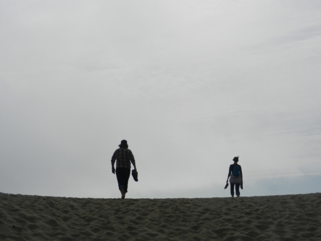 Silhouettes at Ocean Beach, San Francisco, CA 090113