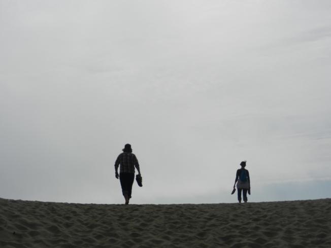 Silhouettes at Ocean Beach, San Francisco, CA 090113