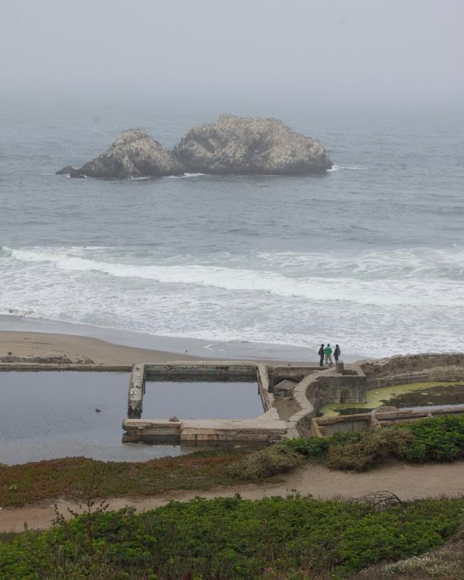 Grey Series: Feeling Small at Seal Rocks, San Francisco, CA 083113