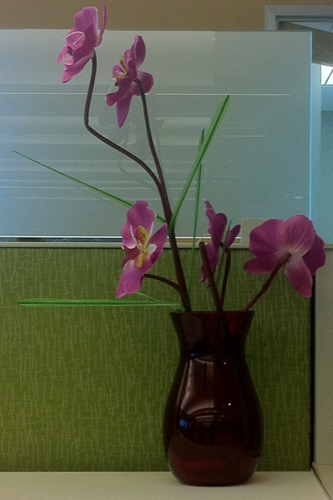 Silk Flowers, 3rd Floor, SFPUC HQ