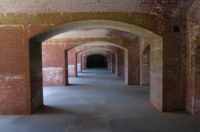 Fort Point Corridor, San Francisco, California, Shot #8
