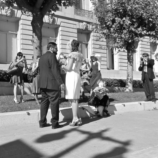 Newlyweds & Friends, City Hall, San Francisco, CA 100313