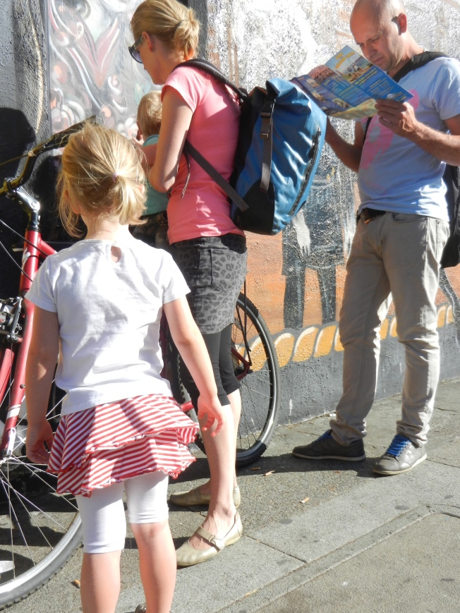 Tourists Renting Bicycles, Haight Street, 5 October 2013