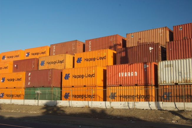 Layers and Layers of Containers, Port of Oakland, 13 November 2013