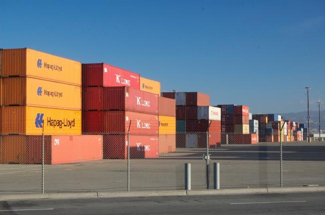 Port of Oakland, West Oakland, 16 November 2013