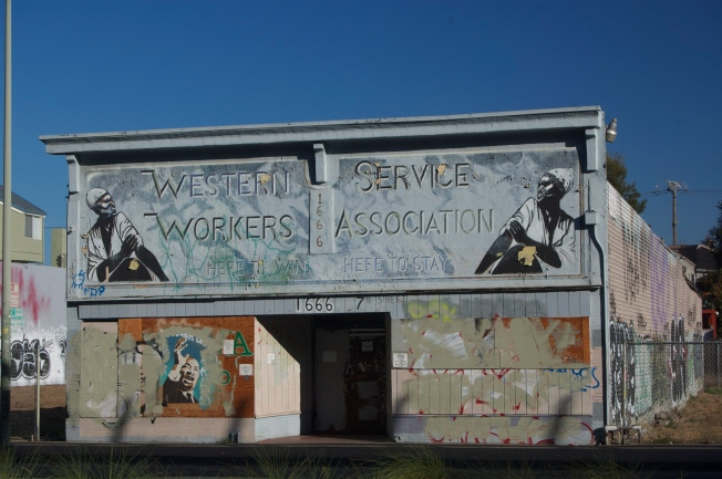 Western Service Workers Union Hall, West Oakland, CA, 16 November 2013