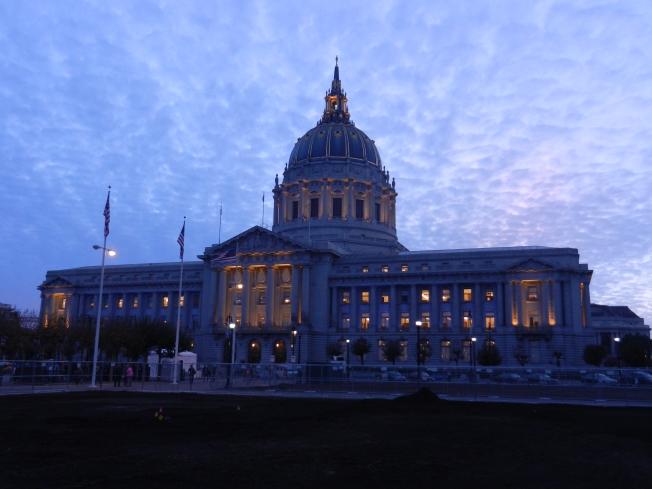 San Francisco City at Dusk, Thursday, 14 November 2013