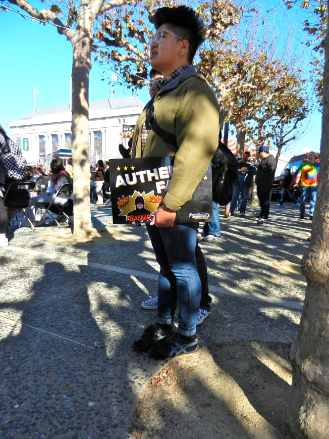 """Authentic Fan"" of the Batkid"