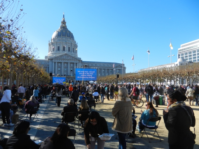 Civic Center Before the Batkid Party Began