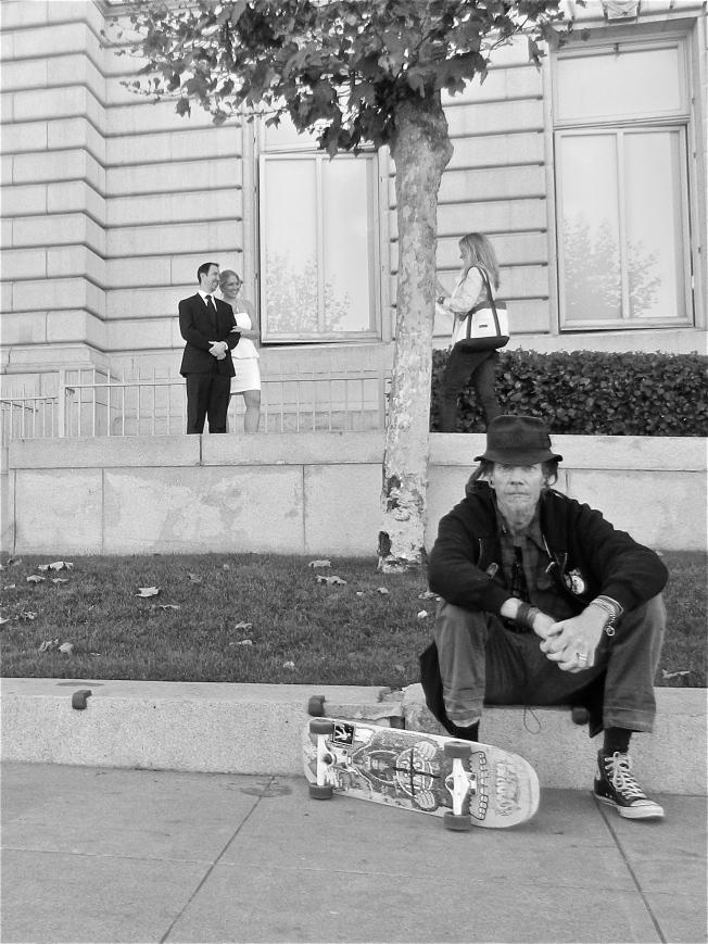 Photography after the Civil Wedding at San Francisco's City Hall, 4 November 2013