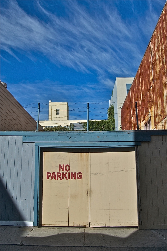No Parking, Natoma, San Francisco, 2 November 2013