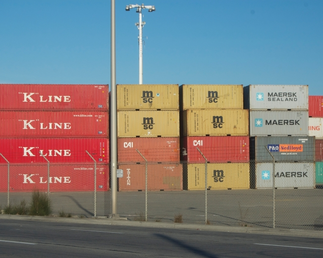 """K"" Line, Port of Oakland, 16 November 2013"