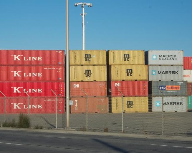 """""""K"""" Line, Port of Oakland, 16 November 2013"""