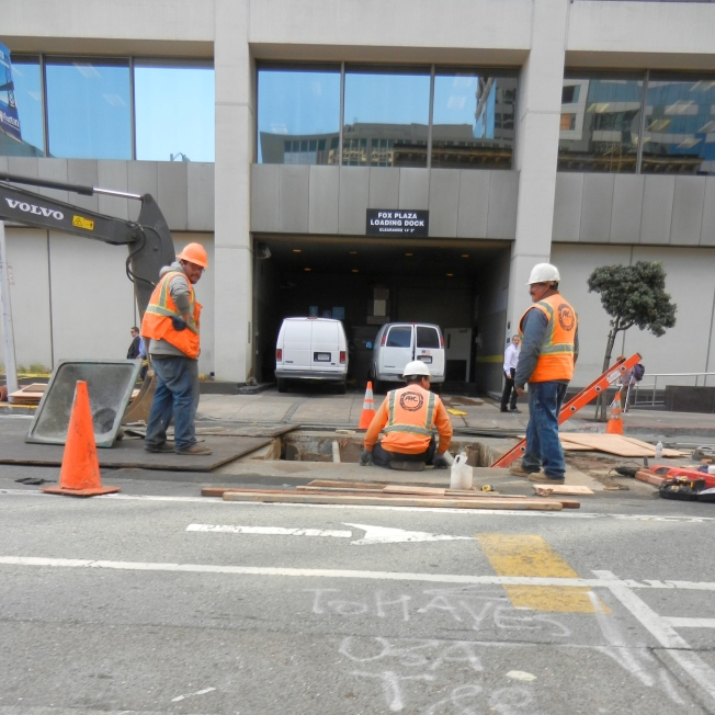Infrastructure Work, San Francisco 13 February 2014
