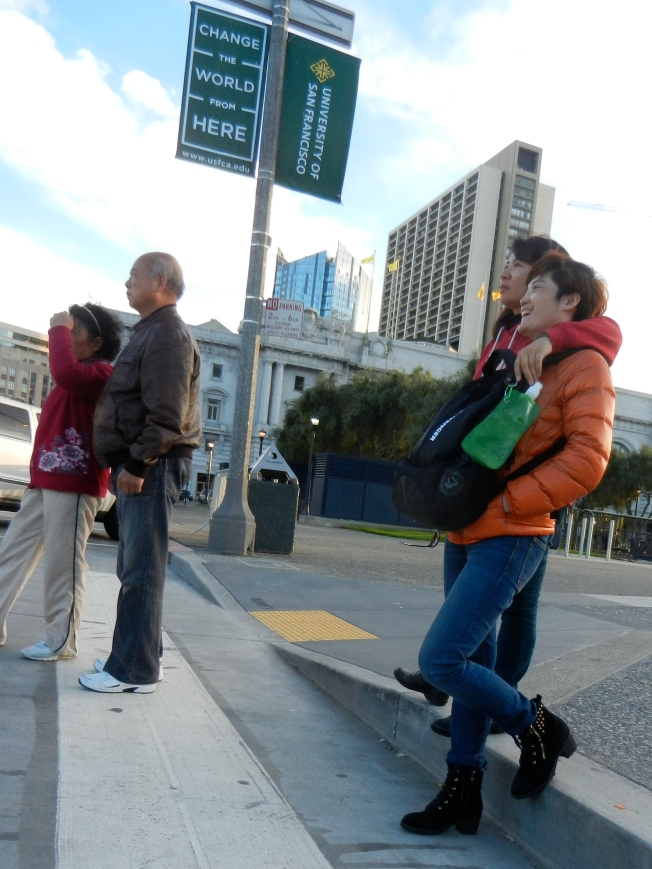 Two Couples, San Francisco Civic Center, 13 February 2014