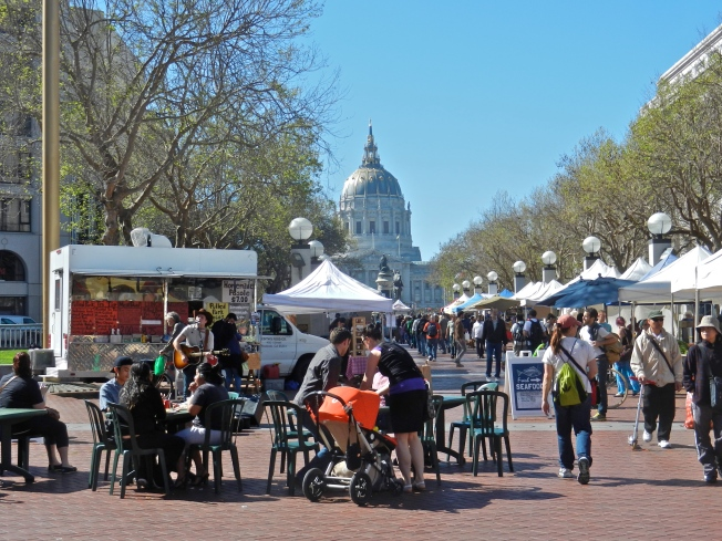 Civic Center Farmers Market, Sunday 23 February 2014