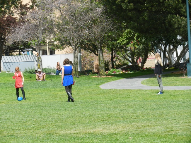 The Soccer Players, Yerba Buena, 28 March 2014