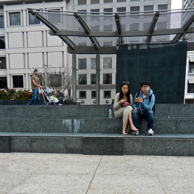 Lovers Lunch, Union Square, San Francisco