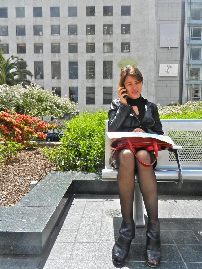 Phone Call, Union Square, San Francisco
