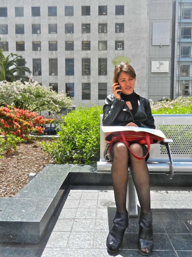 Phone Call, Union Square, San Francisco