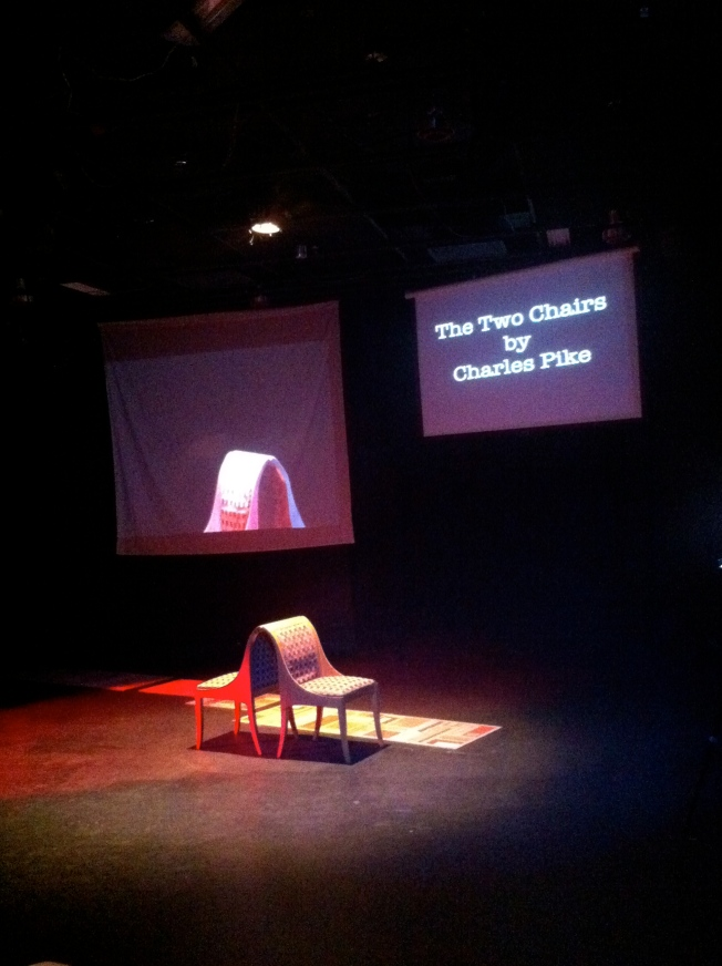 The Set of The Two Chairs, 5 April 2014