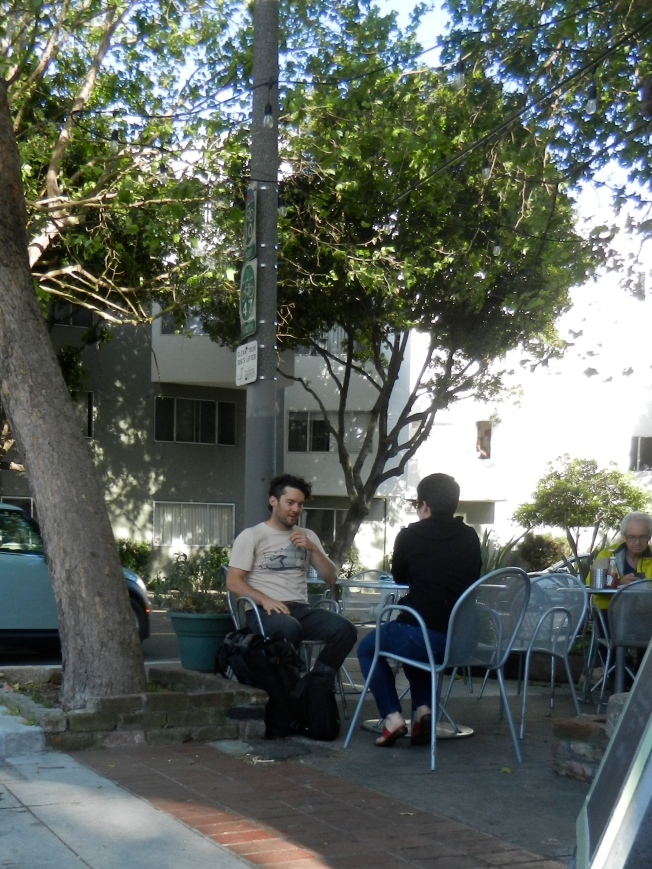 Cafe Near Dubose Park, San Francisco, 2 May 2014