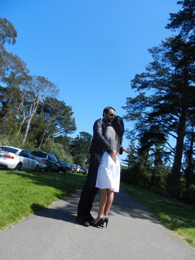 Lovers in Golden Gate Park