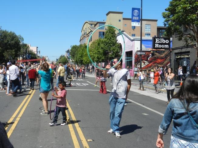 Hula Hoops, Sunday Street, Valencia Street