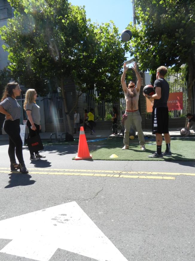 Medicina Ball Work, Sunday Streets