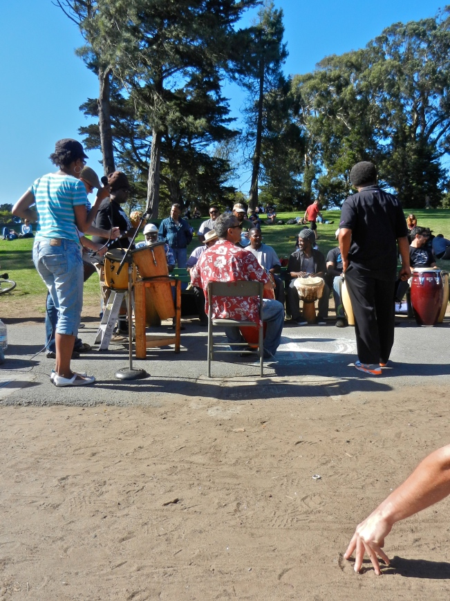 Drumming Circle @ Golden Gate Park, 31 August 2014