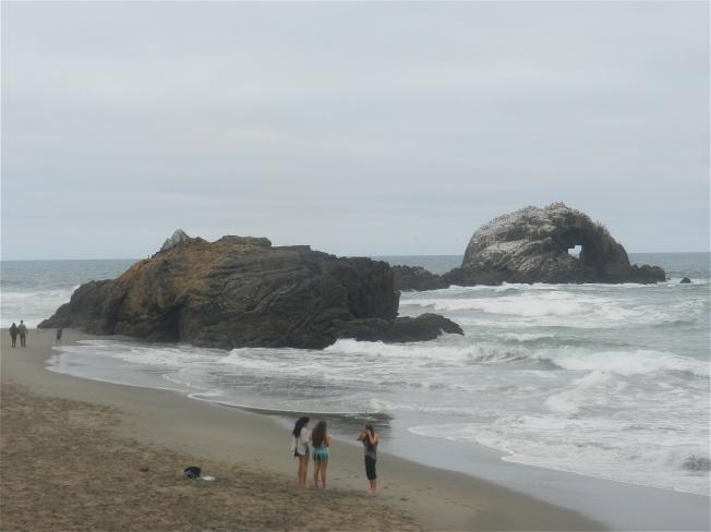 Friends at Seal Rocks, 20 September 2014