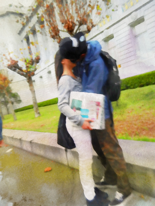 Lovers in the Rain 111914