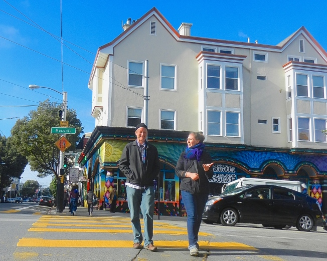 Morning Stroll, Haight & Masonic, 13 December 2014