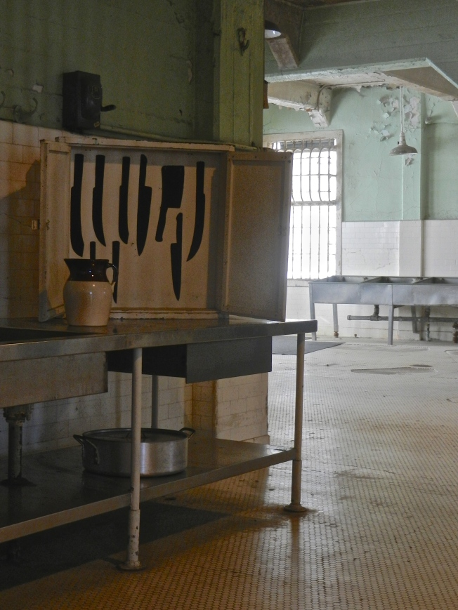 Alcatraz Kitchen. Supposedly the best food in the US prison system.