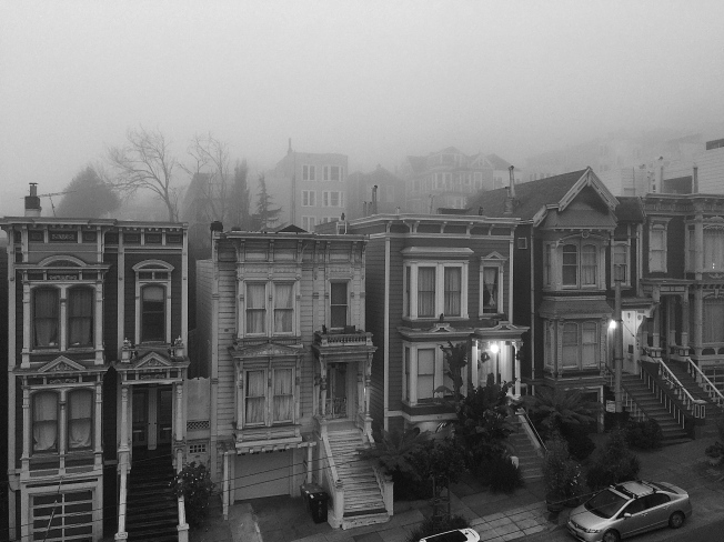 Fogrise, San Francisco, CA 18 January 2015.