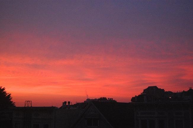 Sunrise, San Francisco, 5 February 2015.